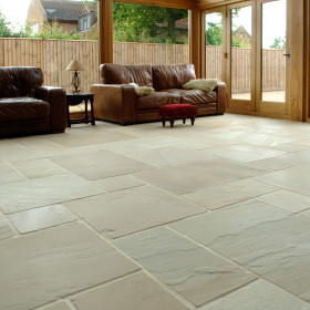 Hampton Cream F101 Weathered Sandstone 4 Size Mix