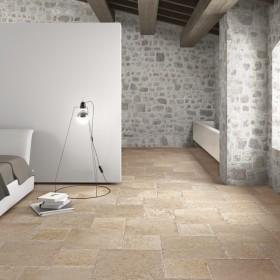 Rustique Lightstone Porcelain Tile 3 Size Mix