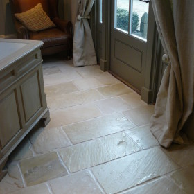 Hampton Cream F101 Weathered Sandstone 3 Size Mix