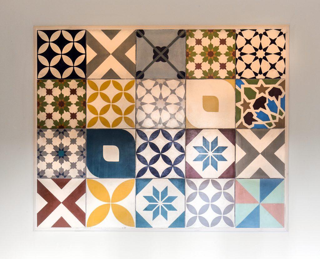Patchwork Multicolour Handmade Encaustic Tile Foras