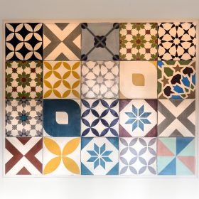 Patchwork Multicolour Handmade Encaustic Tile
