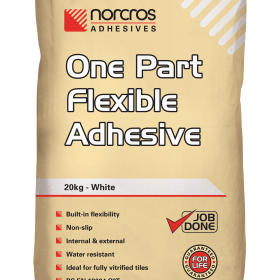 White One Part Flexible Adhesive