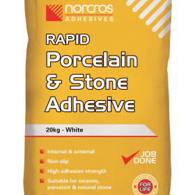 White Rapid Porcelain and Stone Adhesive