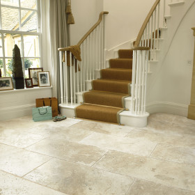 Savannah Unfilled and Tumbled Travertine