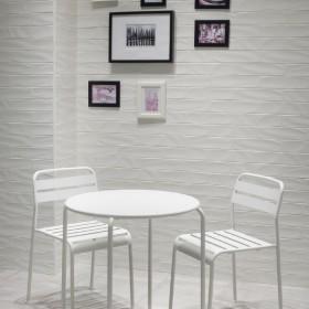 Hedren White Gloss Italian Porcelain Tile