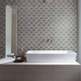 Trellis Handmade Encaustic Tile
