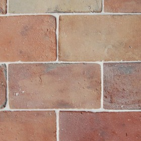 Reclaimed Antique Terracotta Rectangle Tiles