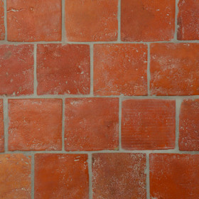 Reclaimed Antique Terracotta Square Tiles