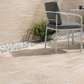 Collette Multi Beige Lines Italian Porcelain Tile