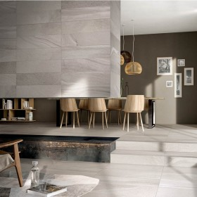 Collette Slim Multi Fog Italian Porcelain Tile