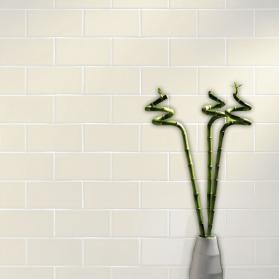 London Cream Gloss Ceramic Tile