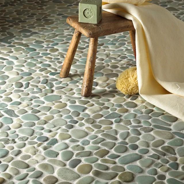 Peppermint Pebble Mosaic Foras Pebble Mosaics