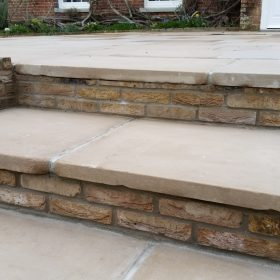 Brindal F105 50mm Sawn and Etched Sandstone