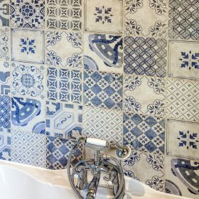 Cerro Azul Deco Matt Ceramic Tile