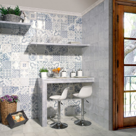 Cerro Azul Deco Gloss Ceramic Tile
