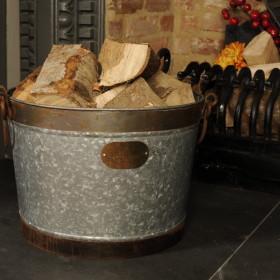 Morston Vintage Log Basket
