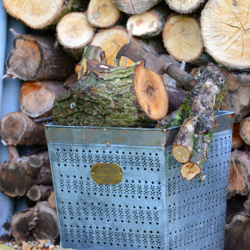 Fincham Vintage Log Basket