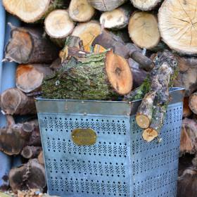 Fincham Vintage Log Basket