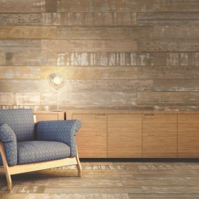 Painted Wood Beige Porcelain Tile