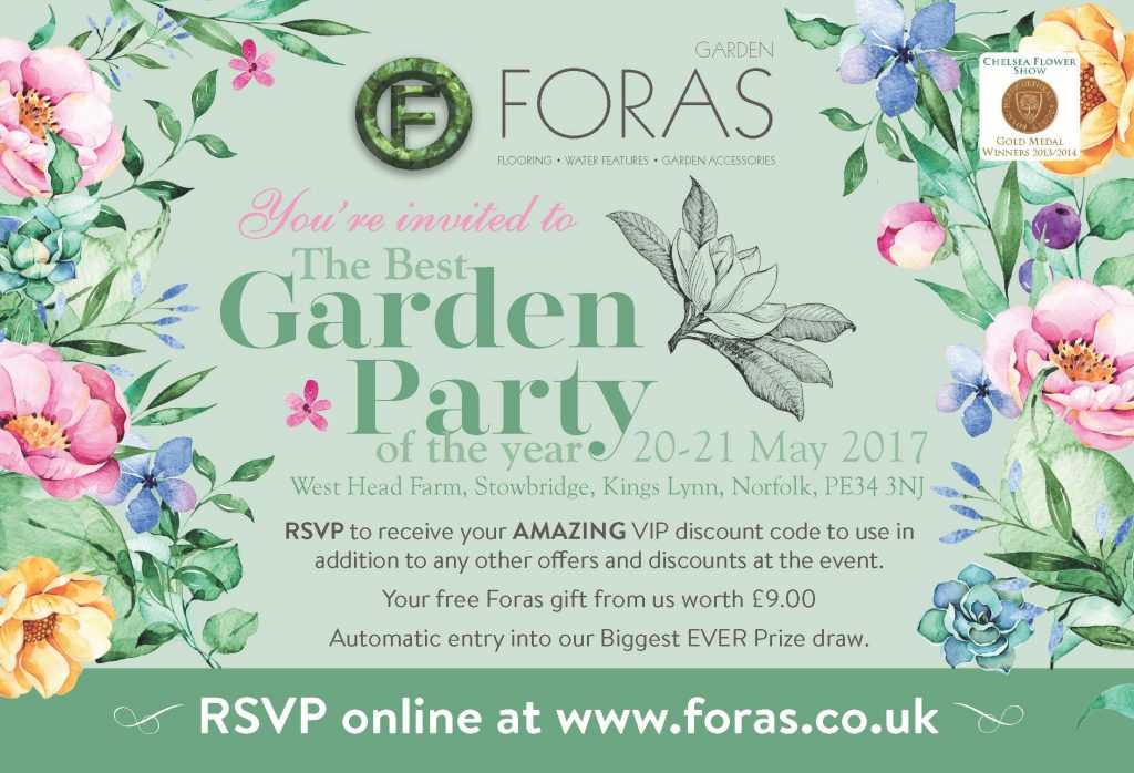 Foras Garden Party Invitation