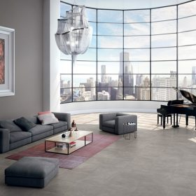 Mandolin Grey Italian Porcelain Tile