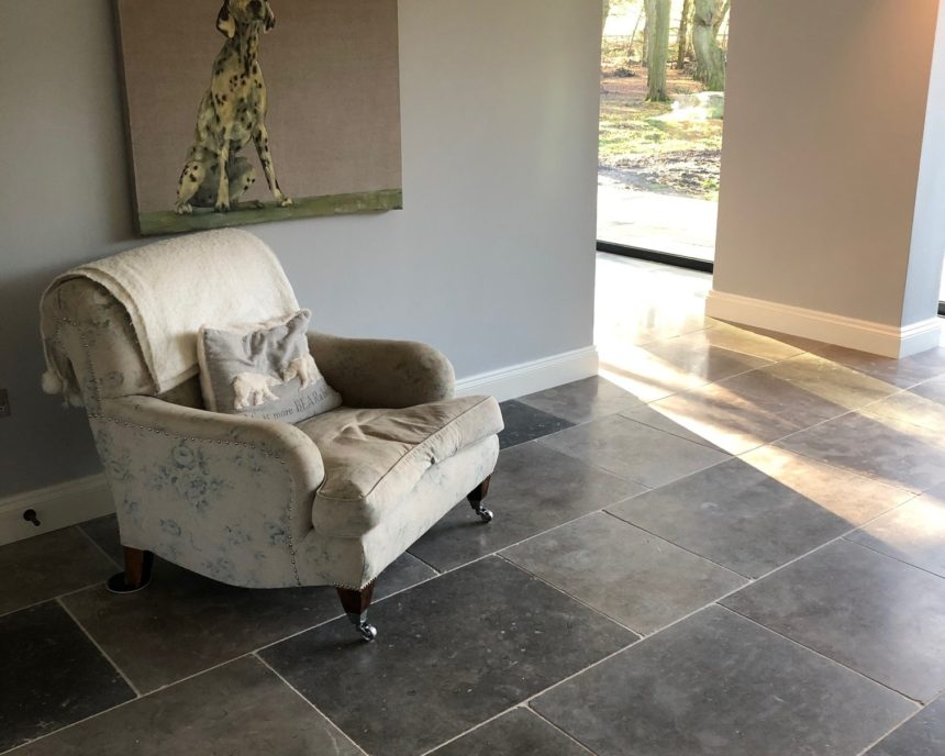 Tidal Grey Honed and Tumbled 15mm Limestone