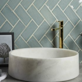 Aria Honed Marble Basin