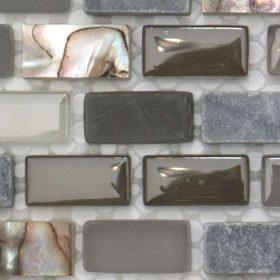 Dahli Grey Brick Handmade Mosaic
