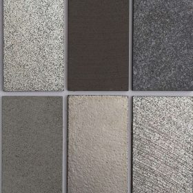 Silver Lava Brick Mosaic