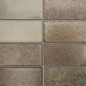 Tanzania Lava Brick Mosaic