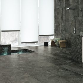 Dalliance Anthracite Italian Porcelain Tile