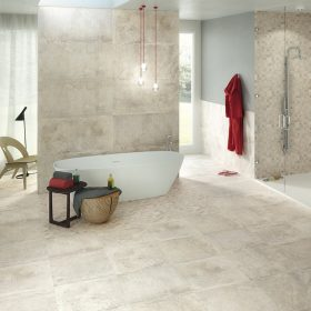Dalliance Bianco Italian Porcelain Tile