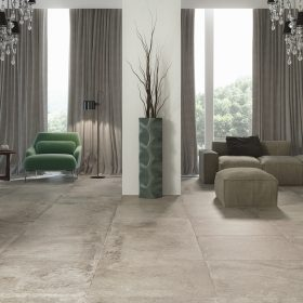 Dalliance Grigio Italian Porcelain Tile